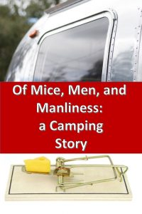 Manly men, camping, mouse poop, and a talkative preschooler makes for an interesting camping tale.