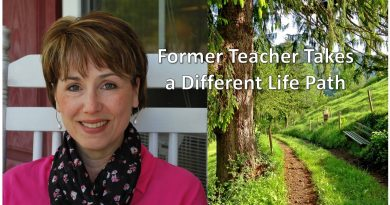 Career switching can lead to success as this former teacher found when she tried real estate!