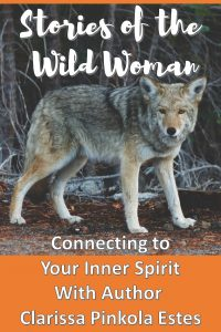 Clarissa Pinkola Estes implores all of us to connect with our inner wild woman in her book Women Who Run With the Wolves. See how the book affected one writer in this post.