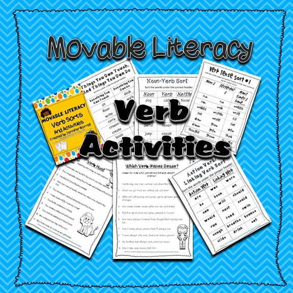 Movable Grammar Verb Activities