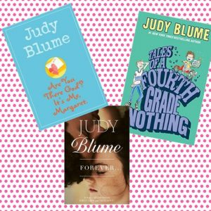 Judy Blume has made readers out of kids for almost fifty years!