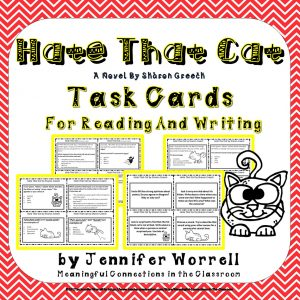 Hate That Cat Task Cards