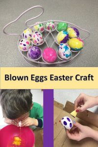 Blown Easter Egg Craft