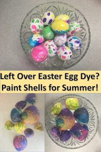 Use Easter Egg Colorant to Dye Shells