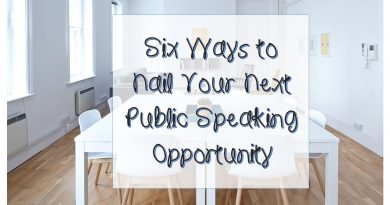 Public speaking ideas for everyone from parents to entrepreneurs