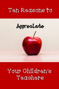 What do teachers really do for kids? Here are a few things to think about this Teacher Appreciation Week.