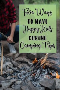 Happy kids on camping trips is a must. Here are a few ideas and affiliate links for keeping the children happy in the great outdoors.