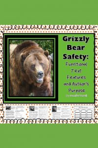These no-prep packets incorporate a wildlife theme to teach functional text features and author's purpose. These are engaging activities for reading.