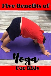 Here are five benefits of yoga for kids.