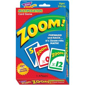 Zoom Multiplication is a great math game for kids