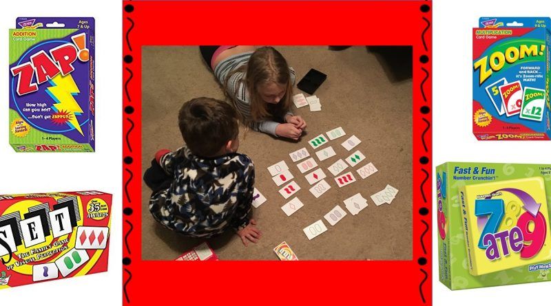 Math card games can turn homework into family game night!
