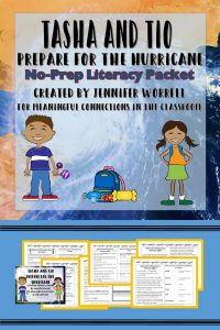 This no-prep literacy packet works well for independent work, literacy centers, or homework. Here is another great opportunity to incorporate reading into your weather unit!
