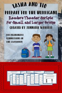 Readers Theaters help young readers improve their fluency. This one give students opportunities to read across the content areas by incorporating weather and storms into the script.