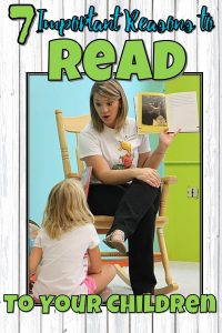 Important Reasons to Read Aloud to Your Children