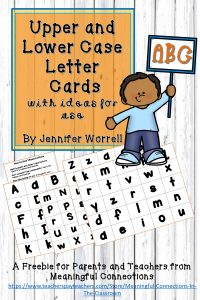 Upper and Lower Case Alphabet Letters