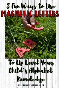 8 Ways to Use Magnetic Letters to Help Your Child