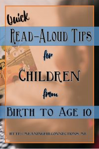 Read Aloud Tips