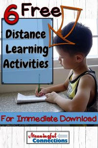 6 Free Distance Learning Activities for Immediate Download