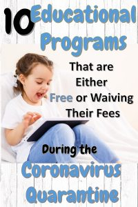 10 Educational Programs that are Either Free or Waiving Their Fees During the Coronavirus Quarantine