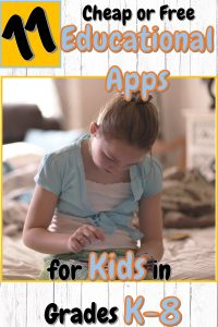 Educational Apps for Kids in Grades K-8