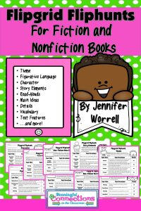 Flipgrid Fliphunts for Fiction and Non-Fiction Books