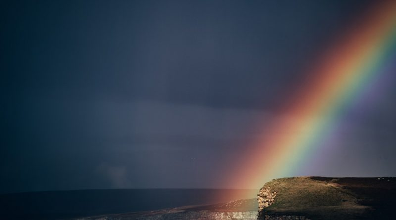 Rainbows will always come if we wait--even in a trial as dark as the loss of a child